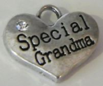 Special Grandma Wine Glass Charms